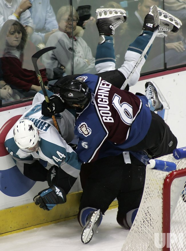 NHL SAN JOSE SHARKS VS COLORADO AVALANCHE