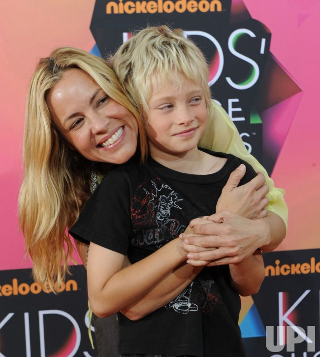 Maria Bello attends the 23rd annual Kids' Choice Awards in Los Angeles
