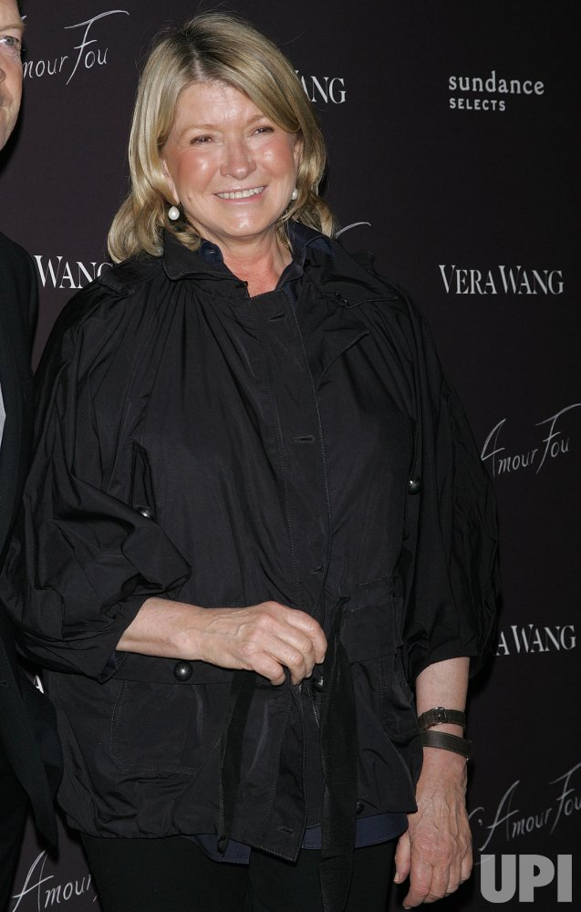 "Martha Stewart arrives for the Special Screening of ""L'Amour Fou"" at the Celeste Bartos Theater at MoMA in New York"