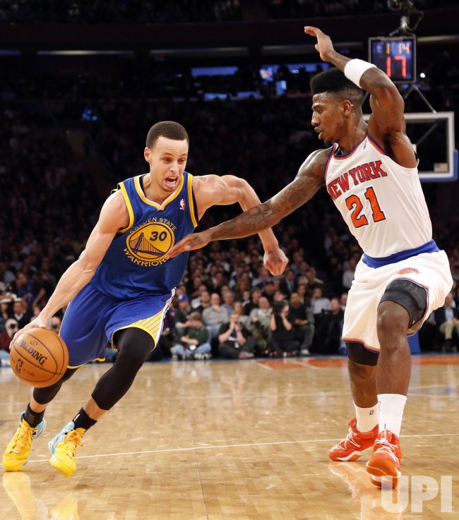 Knicks vs Warriors at Madison Square Garden