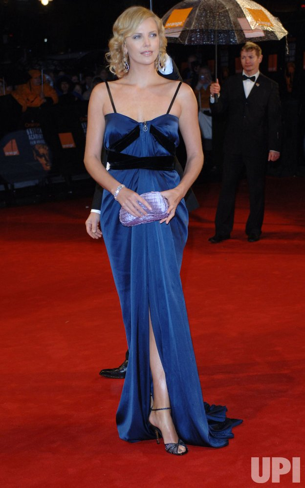 "ACTRESS CHARLIZE THERON AT ""ORANGE BRITISH ACADEMY FILM AWARDS"""