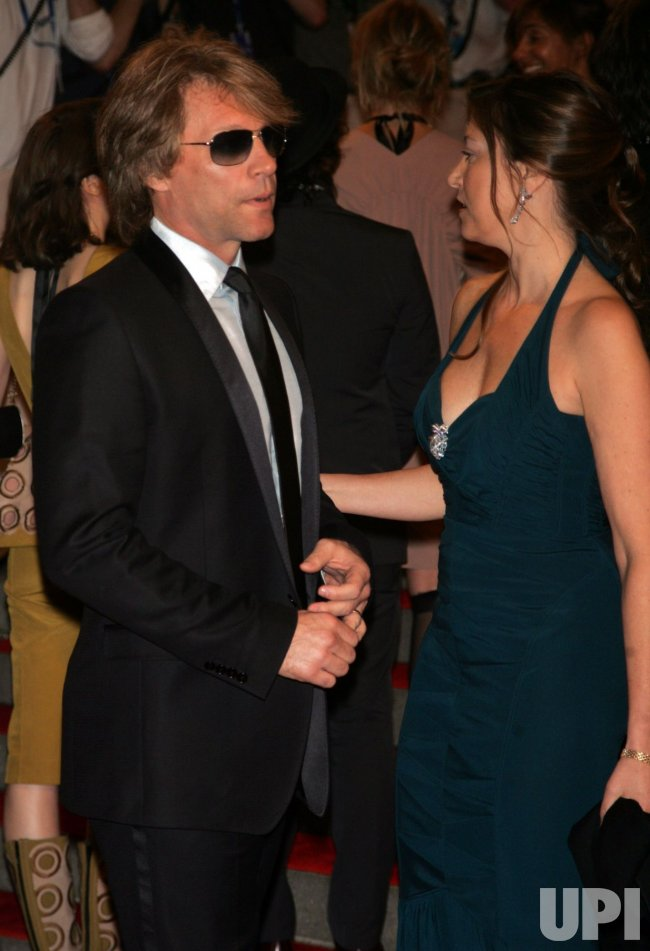 Jon Bon Jovi arrives for the Metropolitan Museum of Art's Costume Institute Gala in New York