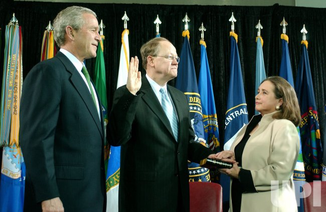 U.S. DIRECTOR OF NATIONAL INTELLIGENCE MCCONNELL IS SWORN-IN