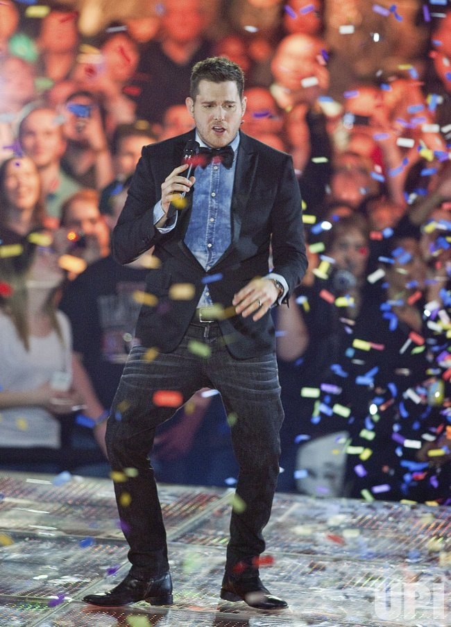 Singer Michael Buble hosts the 2013 Juno Awards in Regina