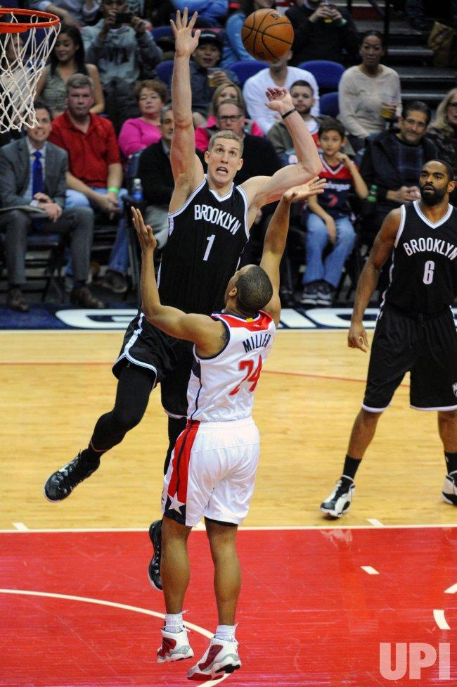 Washington Wizards vs Brooklyn Nets in Washington