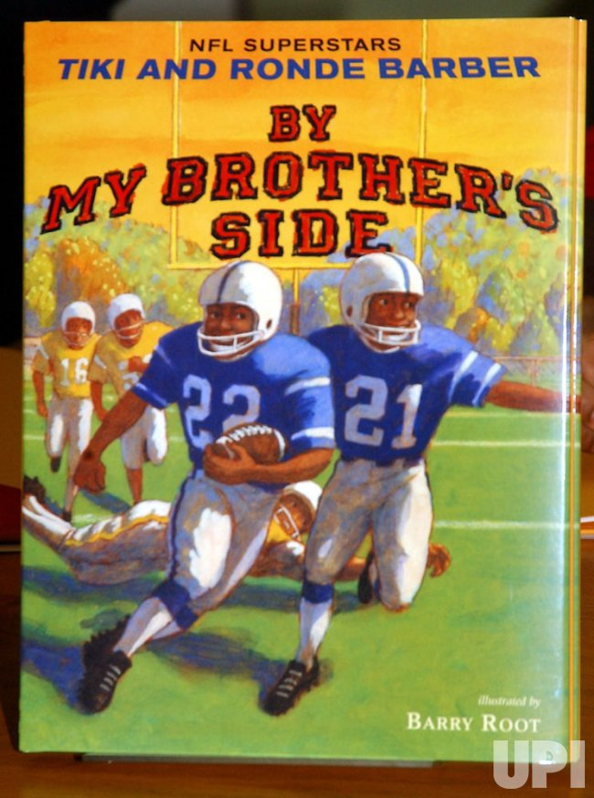 """TIKI AND RONDE BARBER PREMIERE THEIR BOOK:""""BY MY BROTHER'S SIDE"""""""