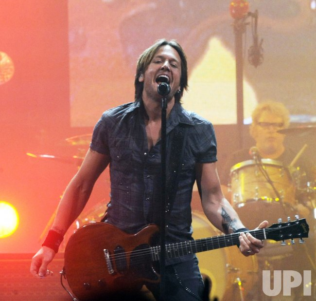 Keith Urban performs in Washington