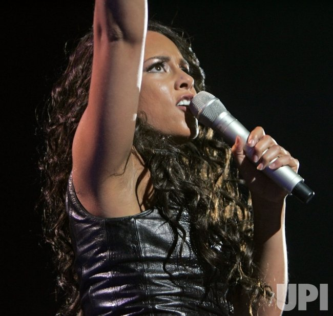 Alicia Keys performs in concert in San Diego