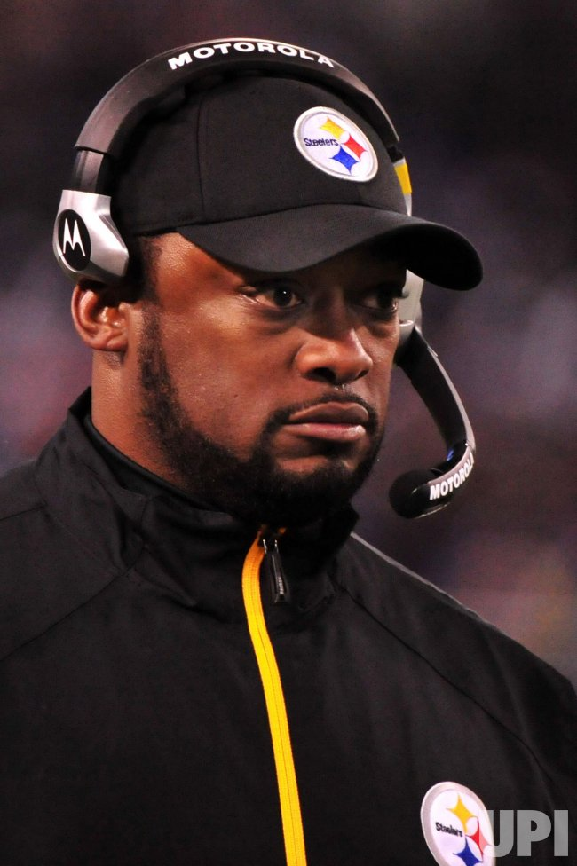 Steelers' Mike Tomlin in Baltimore