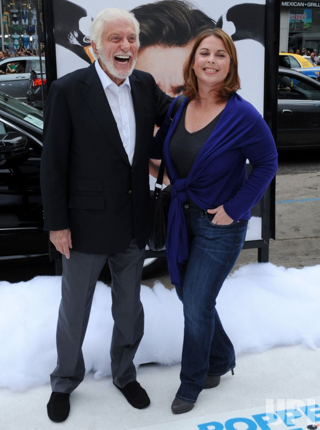 "Dick Van Dyke and Arlene Silver attend the premiere of ""Mr. Popper's Penguins"" in Los Angeles"