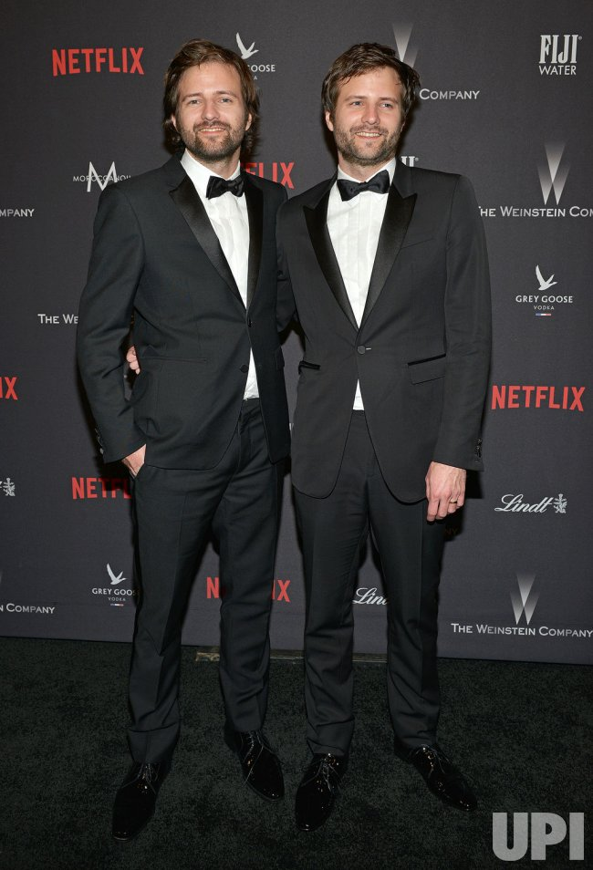 Duffer Brothers attend Weinstein Company and Netflix 2017 Golden Globes after party