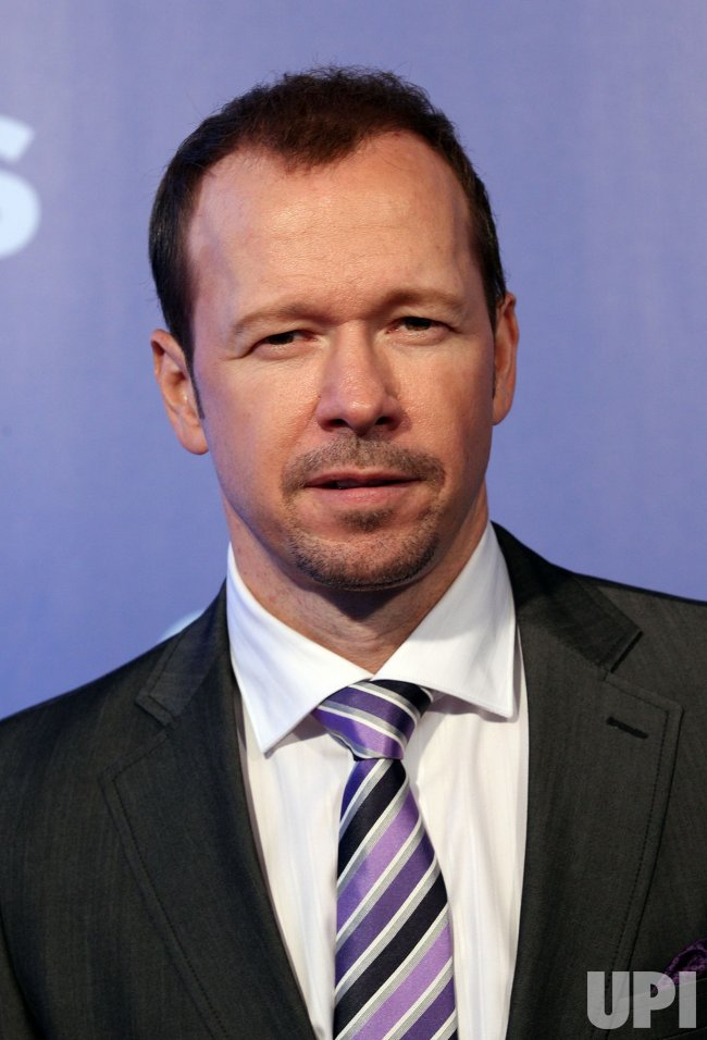 Donnie Wahlberg arrives at the 2010 CBS Up Front at Lincoln Center in New York