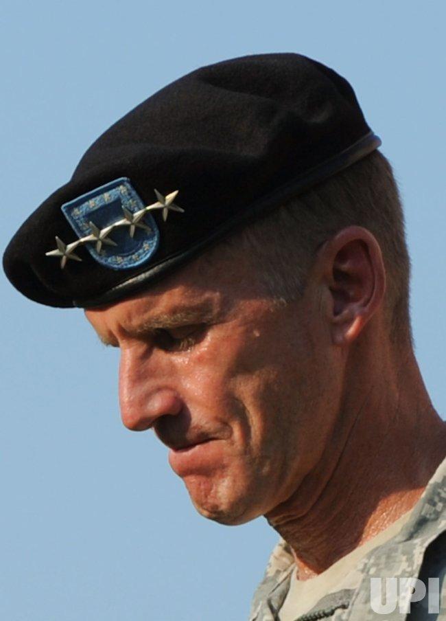 Retirement ceremony honoring Army Gen. Stanley McChrystal in Washington