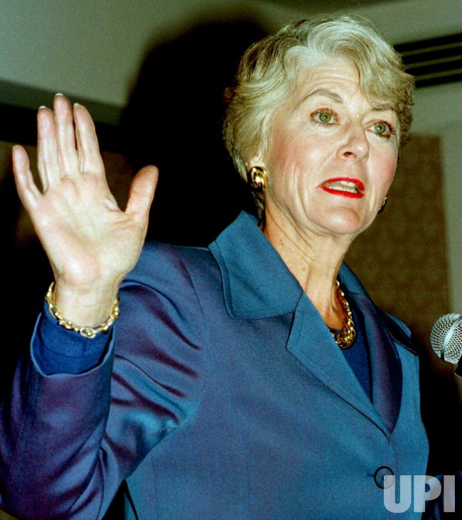 geraldine ferraro challenges senator d'amato for senate seat