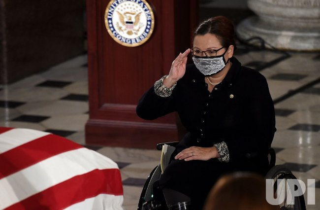 Supreme Court Justice Ruth Bader Ginsburg Lies in State at the U.S. Capitol