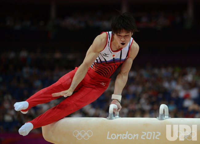 Men's Gymnastics All-Around Competition at London Olympics