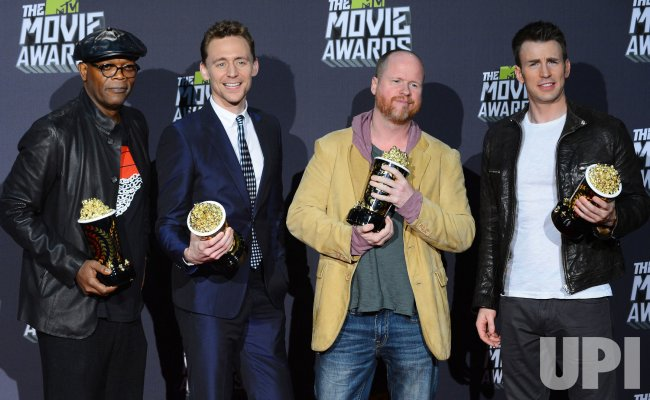 """Marvel's The Avengers,"" garners Movie of the Year award at 2013 MTV Movie Awards in Culver City, California"