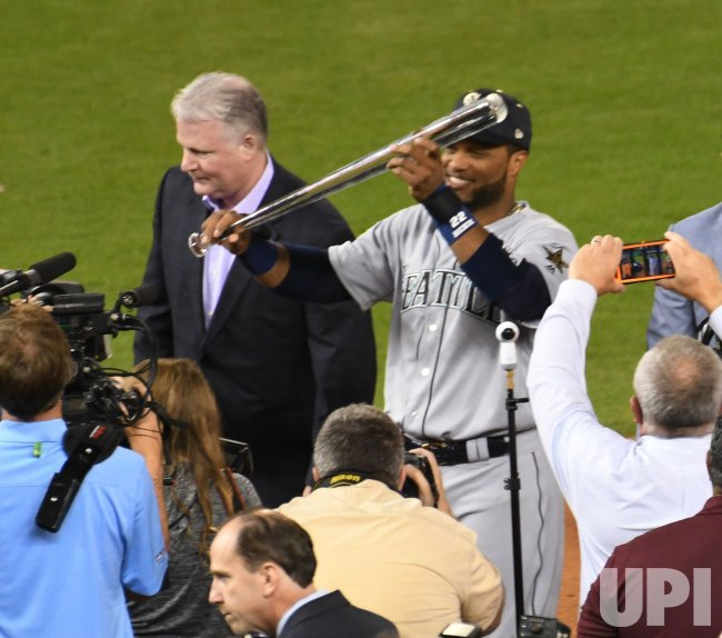 Mariners Cano wins MVP in 2017 MLB All-Star Game in Miami, Florida