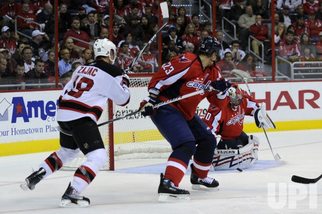 NHL New Jersey Devils at Washington Capitals