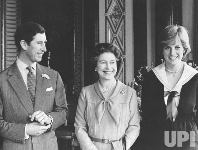 Queen Elizabeth gives permission to Prince Charles to marry Lady Diana