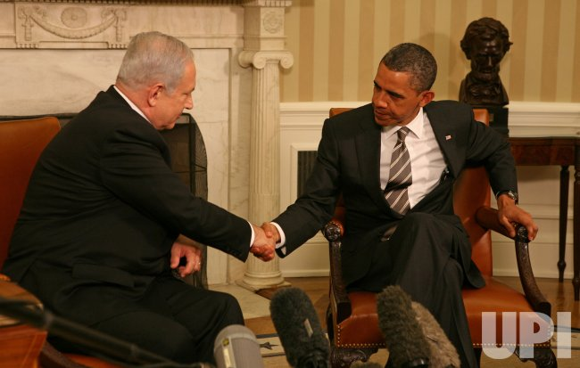 Israeli PM Netanyahu and President Obama Meet at the White House