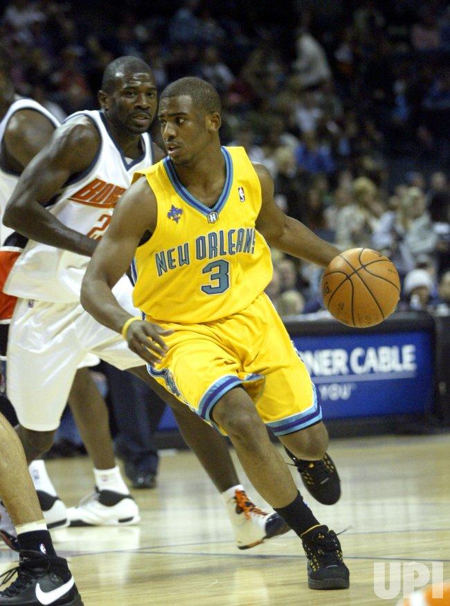 Charlotte Bobcats vs New Orleans Hornets