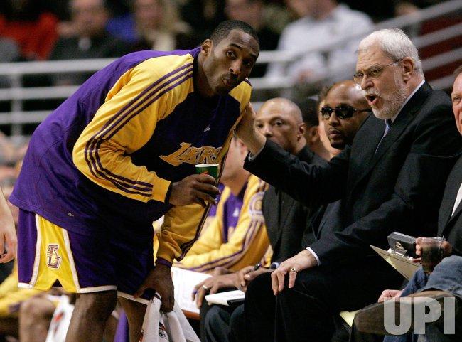 NBA Basketball Los Angeles Lakers vs Chicago Bulls