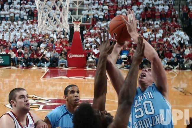 NORTH CAROLINA VS MARYLAND NCAA BASKETBALL