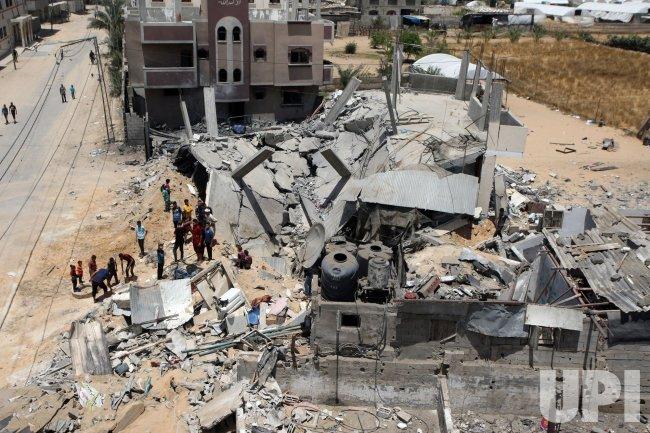 The Israeli Air Strikes on Gaza Continued
