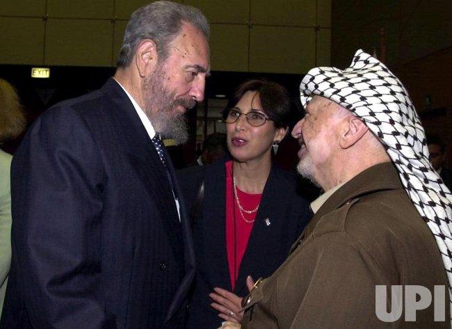 PALESTINIAN LEADER YASSER ARAFAT DEAD AT 75