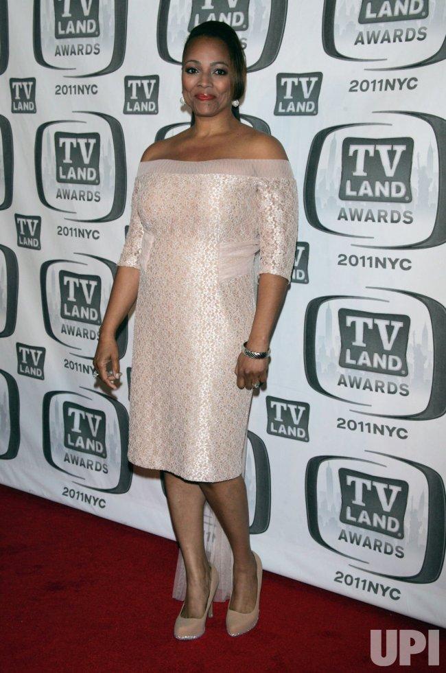 Kim Fields arrives for the TV Land Awards in New York