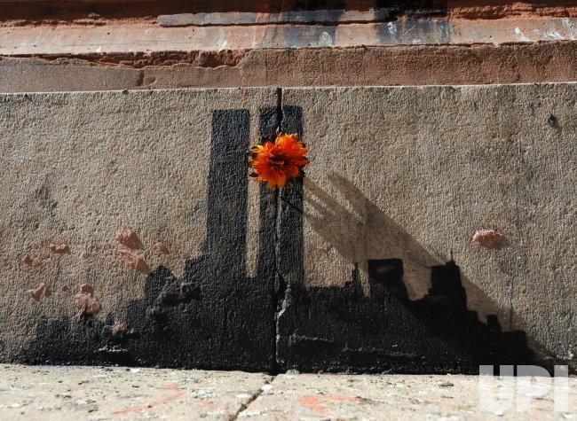Banksy art in New York City