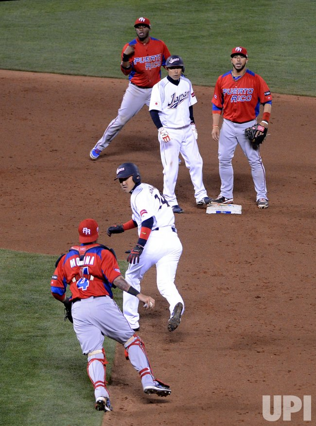 World Baseball Classic Japan vs. Puerto Rico in San Francisco