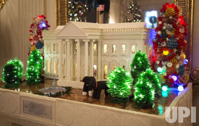 First Lady's Holiday Decoration Previw at the White House in Washington, D.C.
