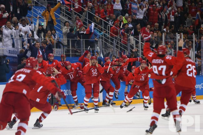 Final Of The Men's Ice Hockey At The 2018 Pyeongchang Winter Olympics