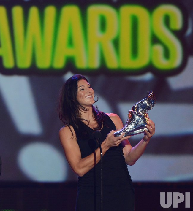 Hope Solo selected as Athlete winner at Do Something Awards in Santa Monica, California