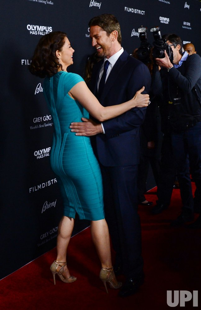 Ashley Judd And Gerard Butler Attend The Quot Olympus Has