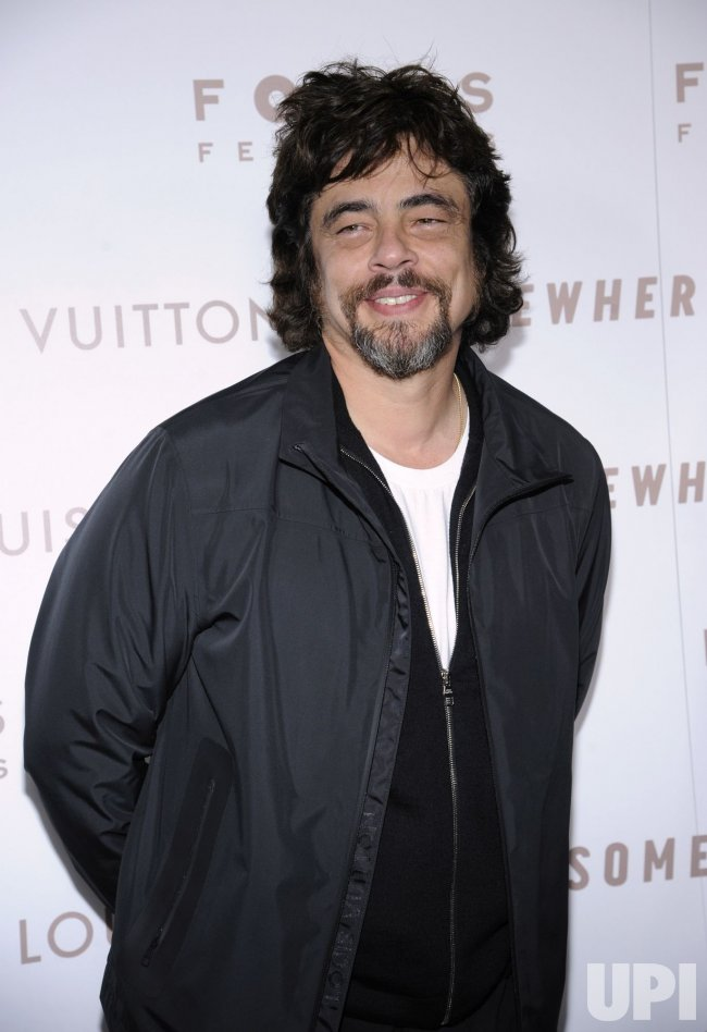 "Benicio Del Toro attends the premiere of the film ""Somewhere"" in Los Angeles"