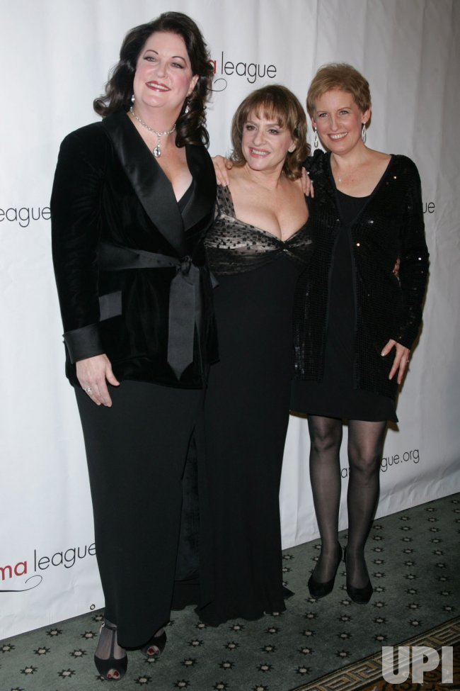 Ann Hampton Calloway, Patti LuPone and Liz Calloway arrive for the Drama League Benefit Gala in New York