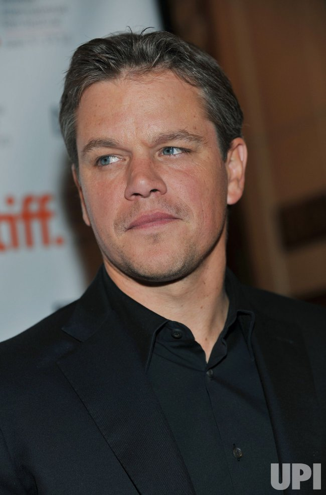 Matt Damon attends 'Hereafter' premiere at the Toronto International Film Festival