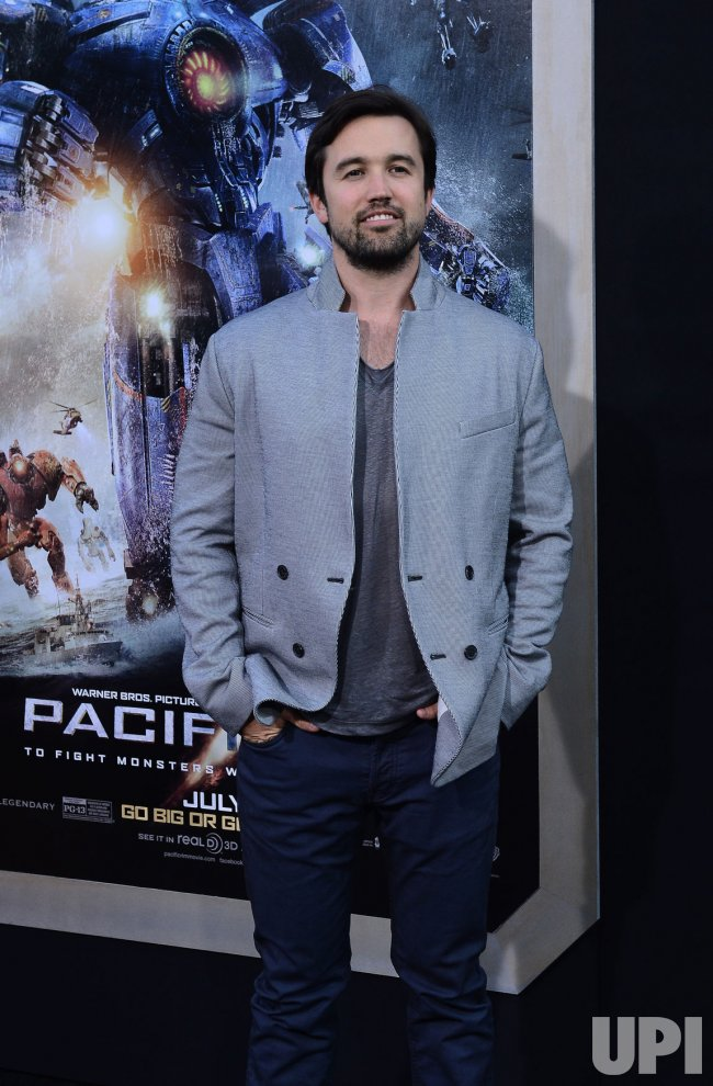 "Rob McElhenney attends the ""Pacific Rim"" premiere in Los Angeles"