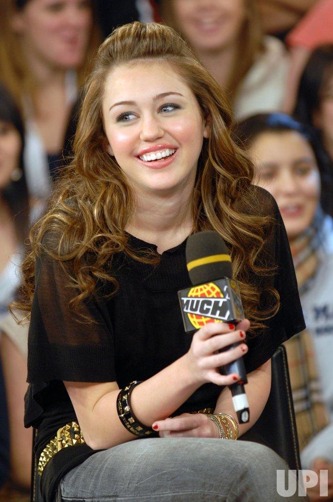 Miley Cyrus on MuchMusic