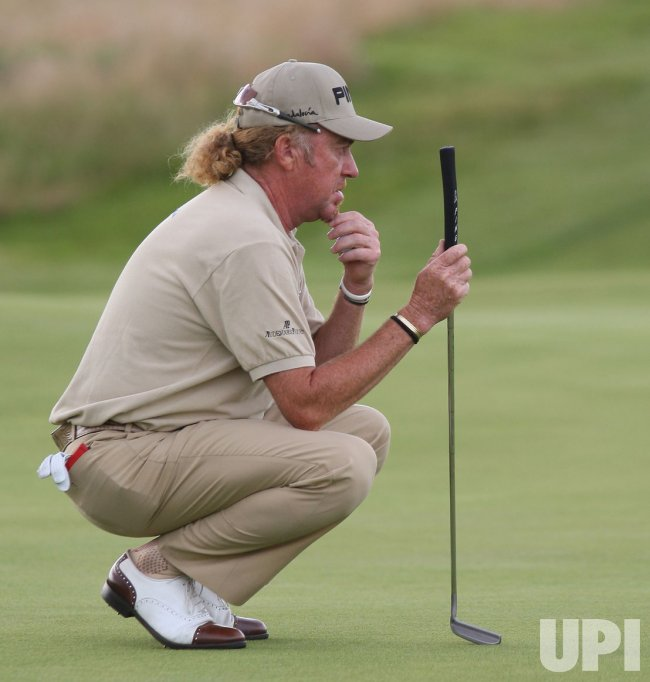 JIMENEZ IN ACTION ON FIRST DAY OF 138TH OPEN CHAMPIONSHIP