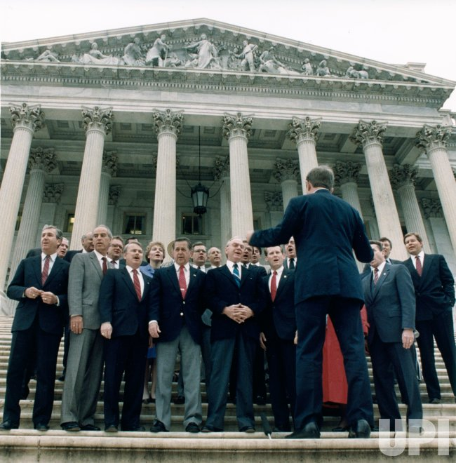 Members of Congress sing God Bless America as a 100th birthday salute to Irving Berlin