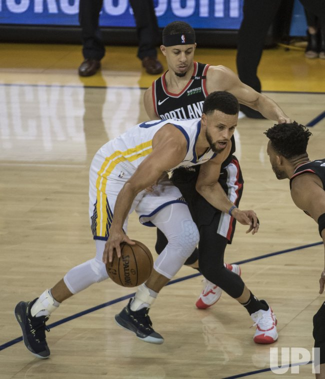 warriors-trail blazers - photo #9