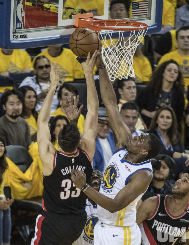warriors-trail blazers - photo #3