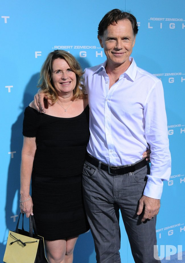 """Bruce Greenwood and wife Susan Devlin attend the premiere of """"Flight"""" in Los Angeles"""