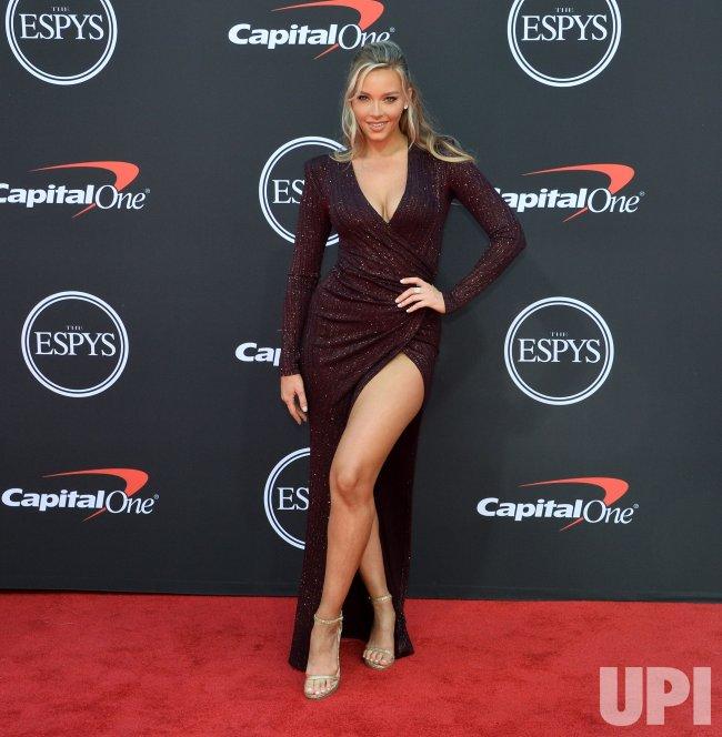 Miami Beach July 2018 Camille Kostek Attends 2018 Sports: Camille Kostek Attends The 27th Annual ESPY Awards In Los
