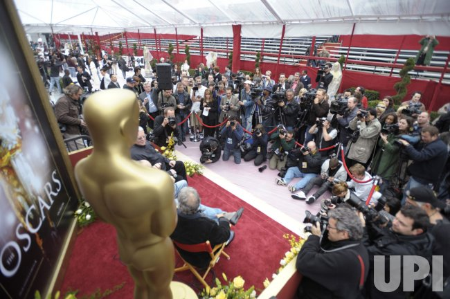 Final preparations are made for the 80th Academy Awards in Hollywood