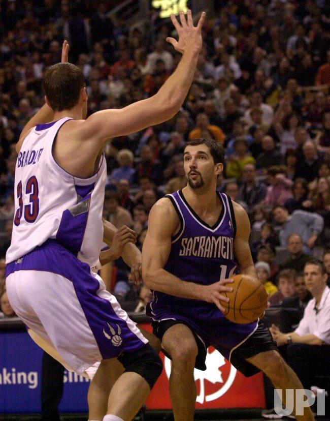 NBA BASKETBALL TORONTO RAPTORS VS. SACRAMENTO KINGS